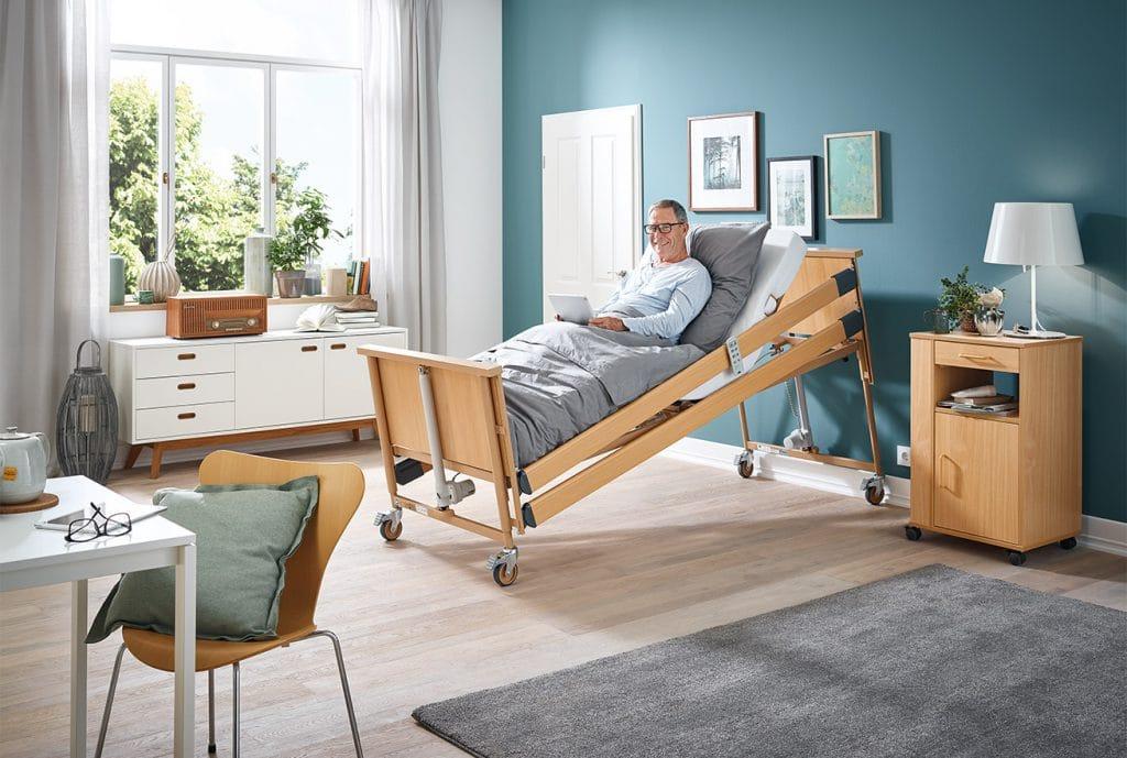 เตียงผู้ป่วยไฟฟ้า Dali Low Entry