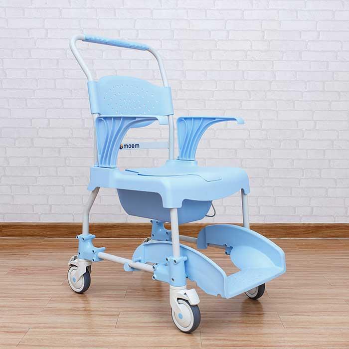 เก้าอี้รถเข็นนั่งถ่าย MOEM