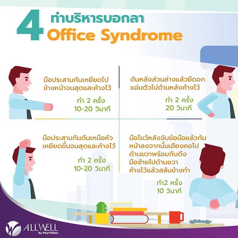 ท่าบริหาร office syndrome