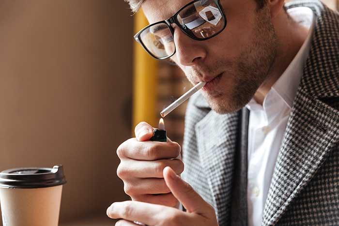 อาการติดบุหรี่