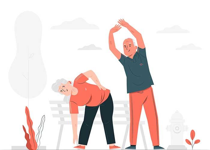 งานสำหรับผู้สูงอายุ