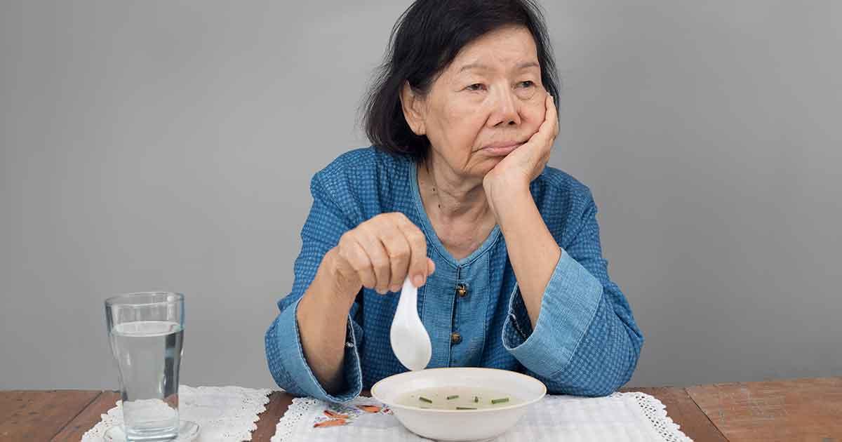 ผู้สูงอายุเบื่ออาหาร