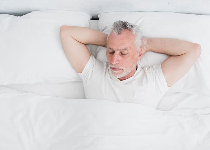 ผู้สูงอายุนอนไม่หลับ