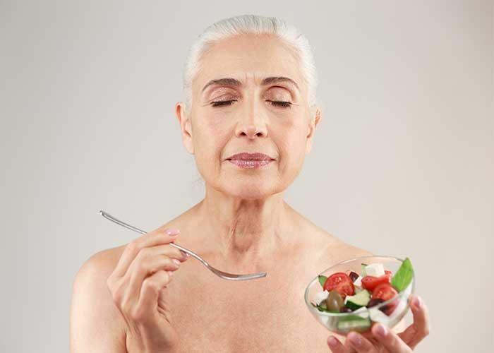 อาหารเจผู้สูงอายุ