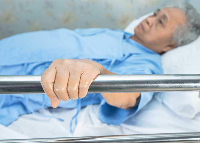 การจัดท่าผู้ป่วย แผลกดทับ