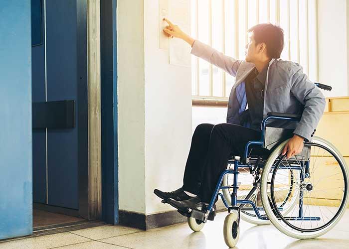 ลิฟต์คนพิการ